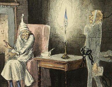 """""""Opowieść wigilijna"""" Charlesa Dickensa. Świąteczna historia, która..."""
