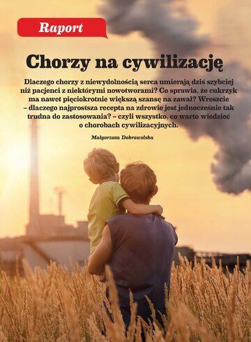 Okładka Raport Wprost – Choroby Cywilizacyjne (2019 r.)
