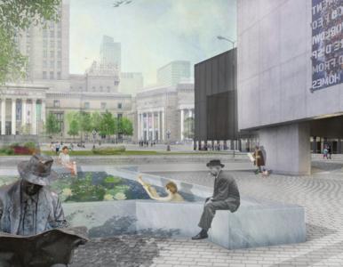 Znamy zwycięski projekt Placu Centralnego w Warszawie
