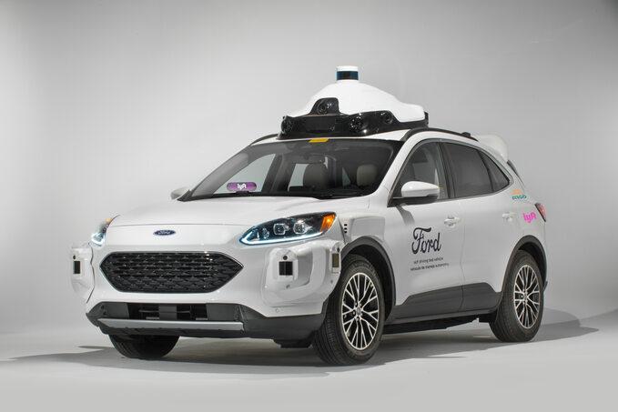 Autonomiczne taksówki Argo/Lyft/Ford