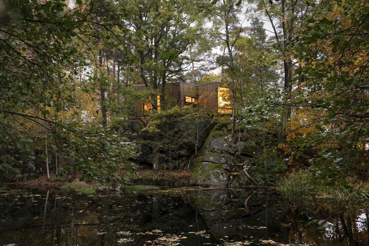 Kabina terapeutyczna Kabina terapeutyczna autorstwa Snøhetta