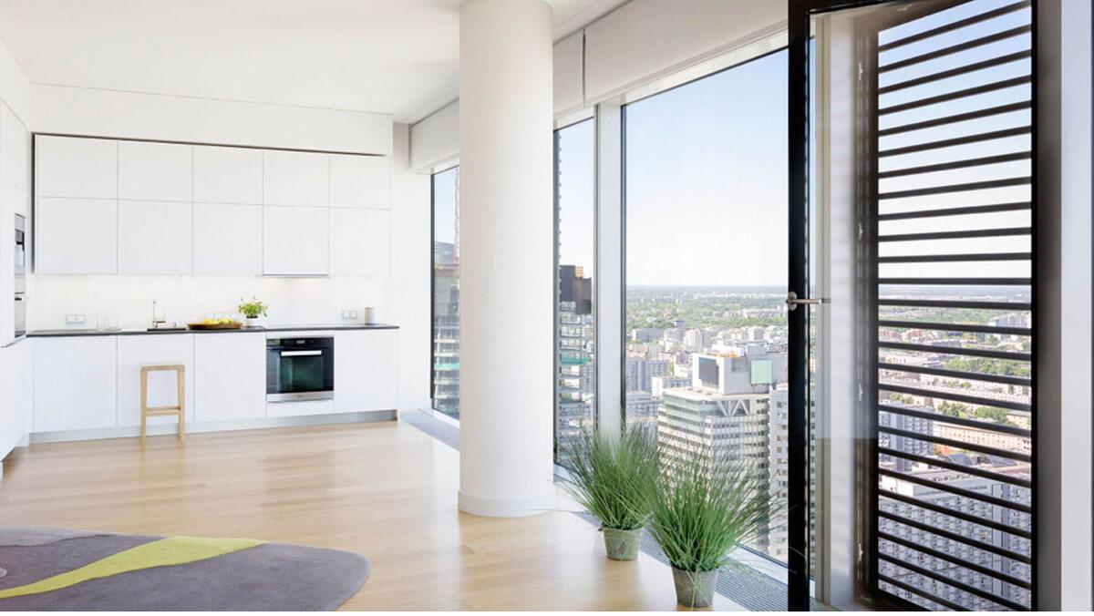 Cosmopolitan Przykładowe wnętrza apartamentu w Cosmopolitanie