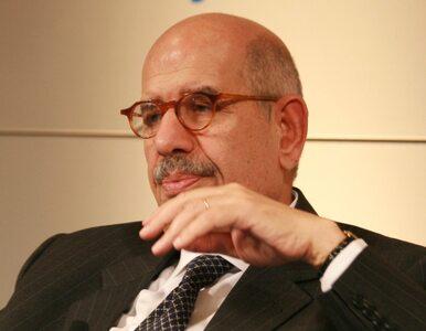 ElBaradei: będziemy przestrzegali układu z Izraelem, ale...