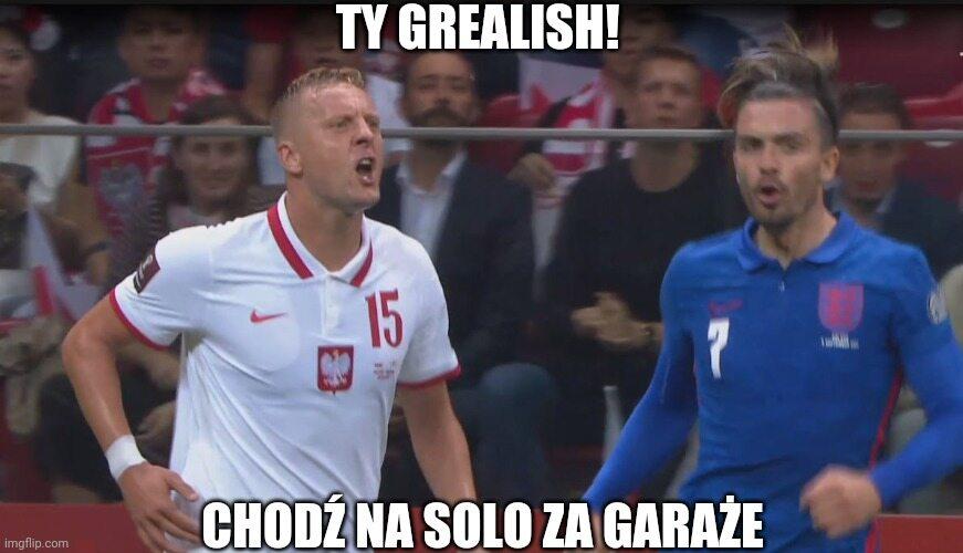 Kamil Glik i Jack Grealish