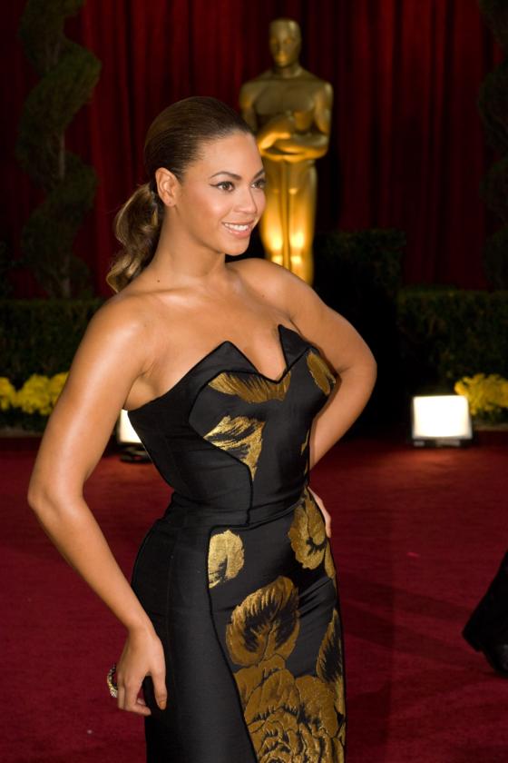 Beyonce Knowles podczas 81. ceremonii rozdania Oscarów w 2009 roku