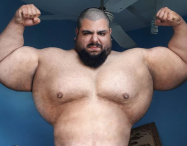 """""""Irański Hulk"""" będzie walczył na gołe pięści. """"USA kontra Iran - III..."""