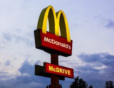 Awantura w McDonald's. Pracownik rzucił w klientkę blenderem