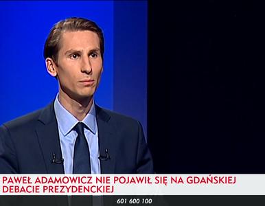 Adamowicz zrezygnował z debaty w TVP. Płażyński: Po raz drugi zdezerterował