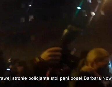 Barbara Nowacka spryskana gazem. Policja wyjaśnia i publikuje nagranie