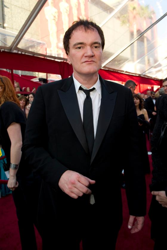 Quentin Tarantino podczas 82. ceremonii rozdania Oscarów w 2010 roku