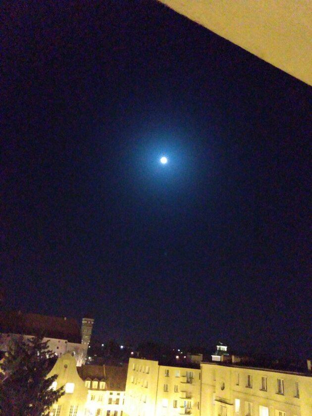 Niebieski Księżyc w Lidzbarku Warmińskim