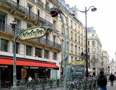 Atak nożownika przy stacji metra w Paryżu