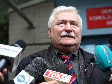 Wałęsa chce przeprosin od Wyszkowskiego za słowa o współpracy z SB....