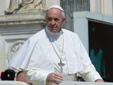 Papież spotkał się z Donaldem Trumpem. Podarował mu...