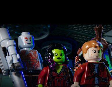 Strażnicy galaktyki... z klocków Lego