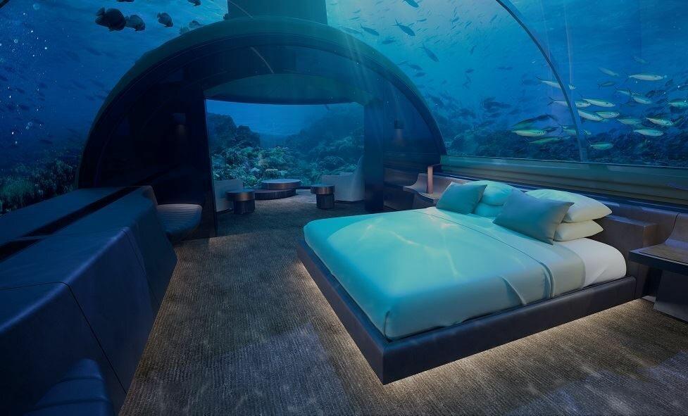 Podwodny hotel Podwodny hotel na Malediwach