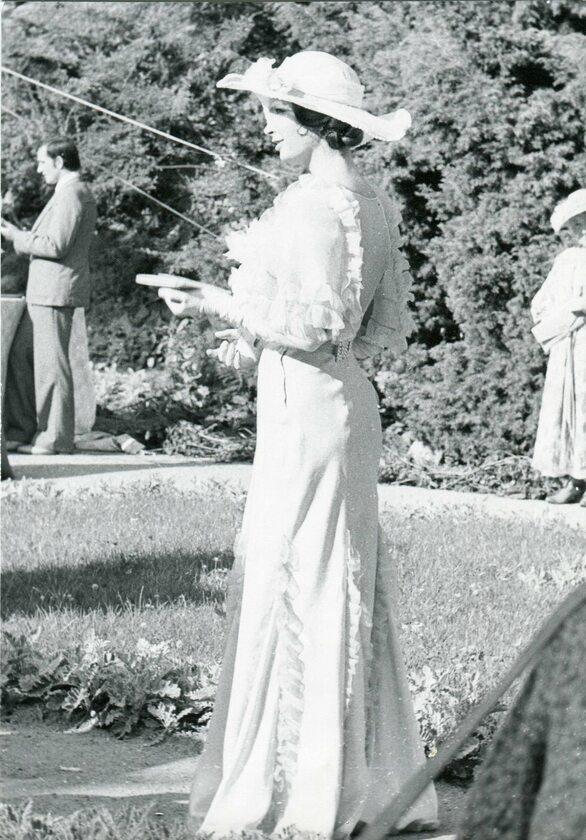 Anna Dymna jako hrabianka Melania Barska