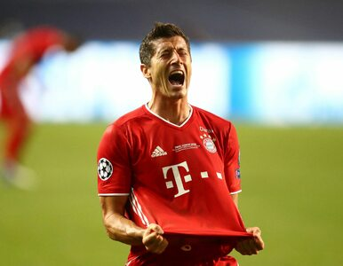 Robert Lewandowski popłakał się po meczu. Wzruszająca dedykacja piłkarza