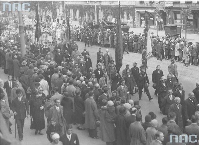 4. Uroczystości w Warszawie z okazji rocznicy Bitwy Warszawskiej (fot. Narodowe Archiwum Cyfrowe)