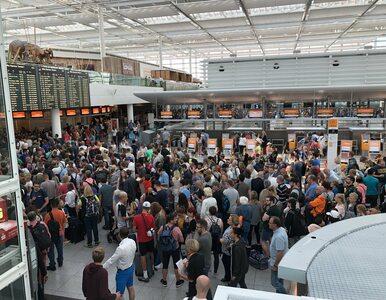 Incydent na lotnisku w Monachium. Setki odwołanych lotów i opóźnienia