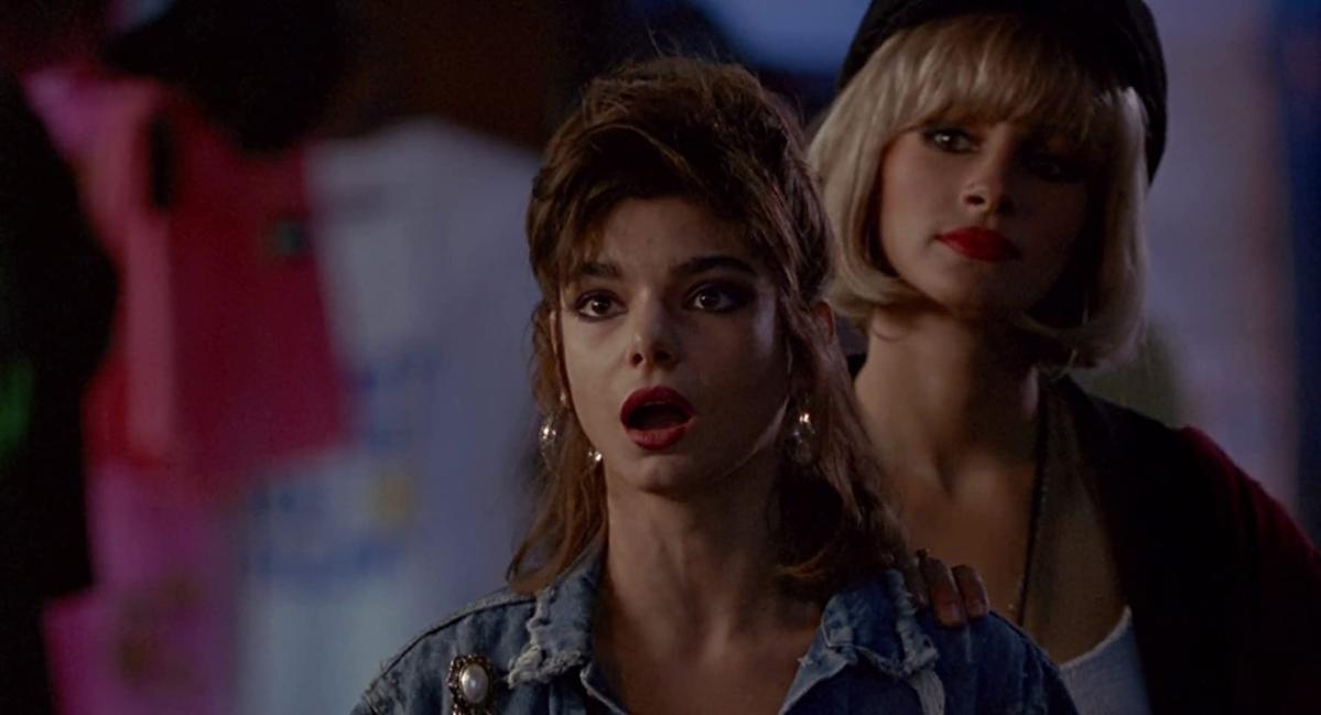 "Laura San Giacomo jako Kit De Luca w filmie ""Pretty Woman"""