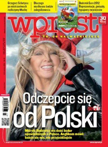 Okładka tygodnika Wprost nr 23/2012 (1529)