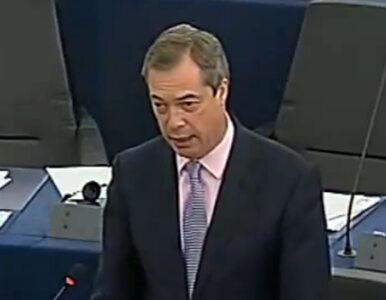 Farage: Podziwiam Putina, a UE ma krew na rękach