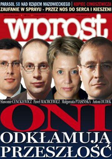 Okładka tygodnika Wprost nr 25/2005 (1177)