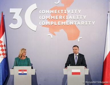 """NA ŻYWO: Wizyta Trumpa i szczyt Trójmorza w Polsce. """"Zaniedbaliśmy oś..."""