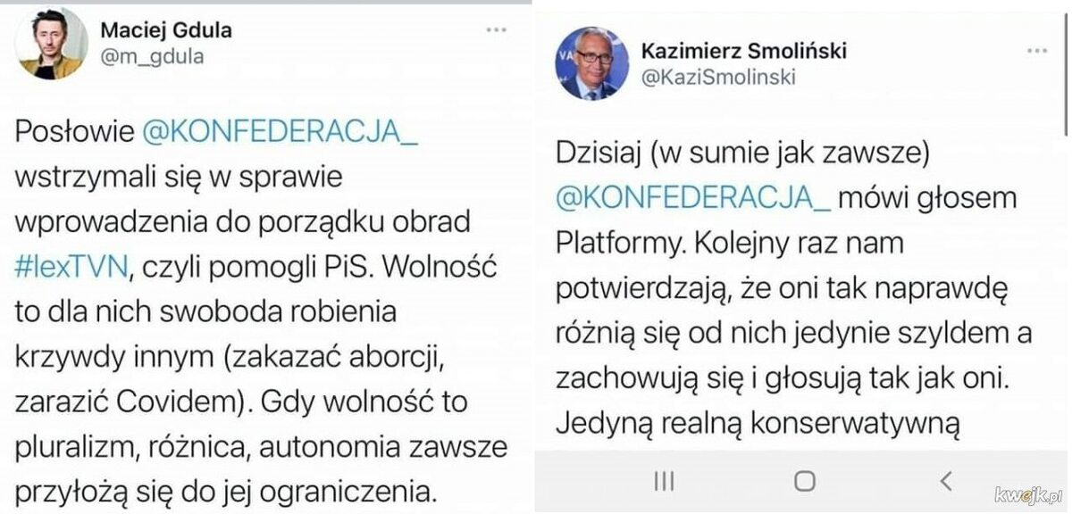 Mem po głosowaniu ws. lex TVN