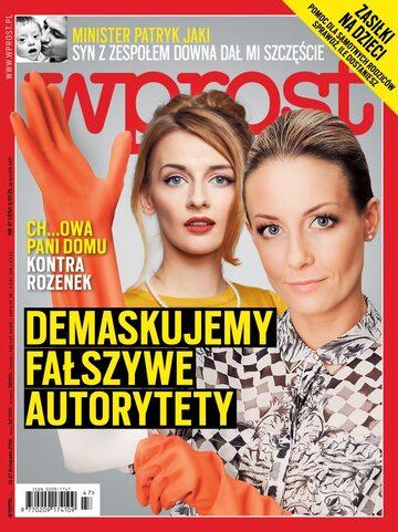 Okładka tygodnika Wprost nr 47/2016 (1763)