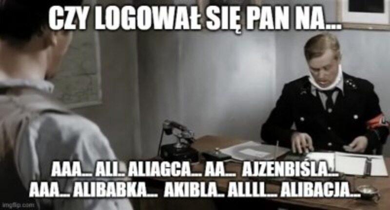Mem podsumowujący start serwisu Albicla