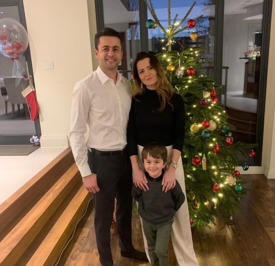 Łukasz Fabiański i Anna Grygier Anna Grygier wyszła za mąż za Łukasza Fabiańskiego w 2013 roku. Wspólnie mają syna Jana (ur. 23 grudnia 2015).