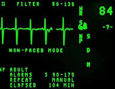 Mężczyzna połknął baterię. Lekarze myśleli, że ma zawał serca