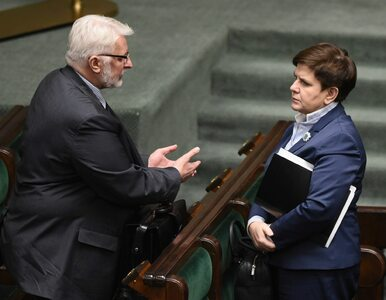 Waszczykowski chciał obciąć dotację, premier interweniowała. TV Biełsat...