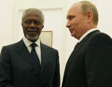 Annan wstrzymał głosowanie w sprawie Syrii. Liczy na porozumienie z Rosją