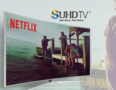 Netflix szybko zyskuje na popularności w Samsung Smart TV
