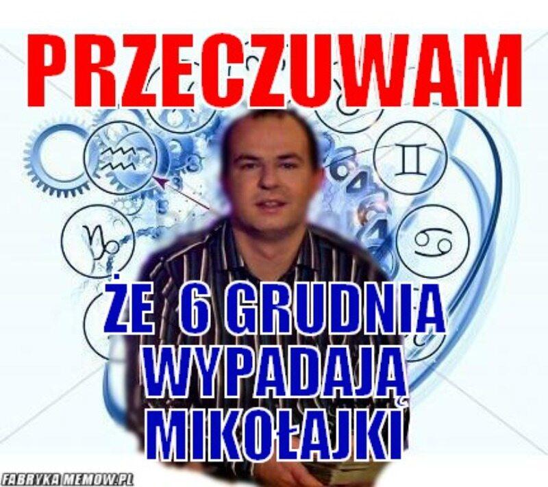Mem z okazji Mikołajek
