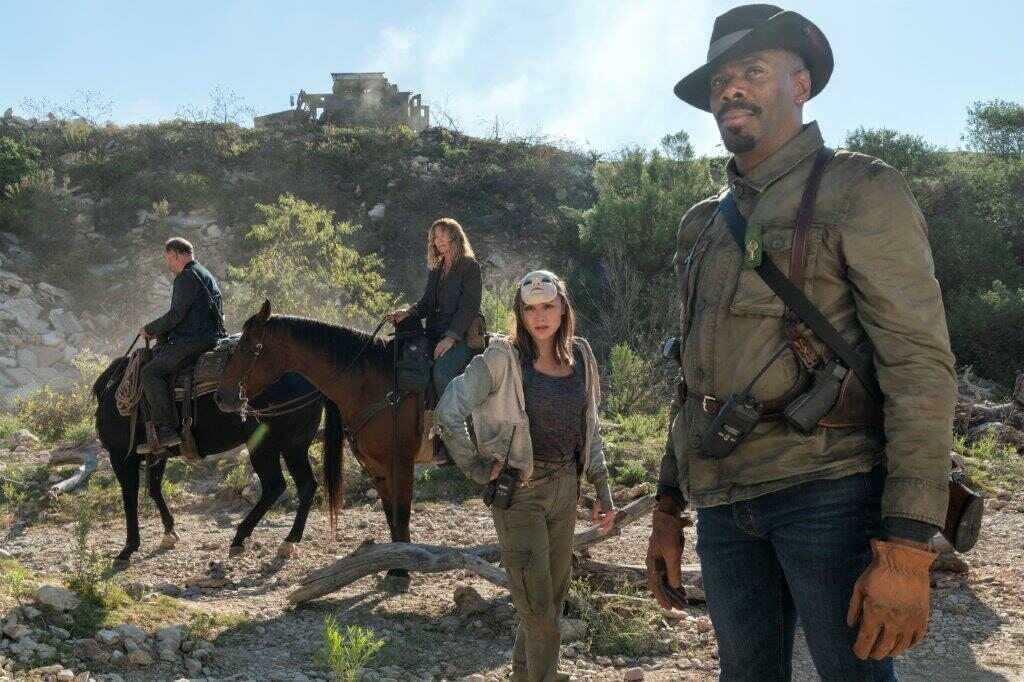 "Kadr z serialu ""Fear the Walking Dead"""