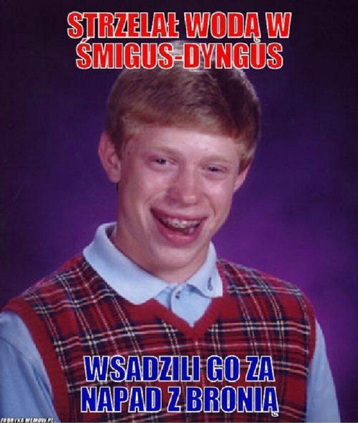Memy na Lany Poniedziałek