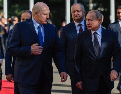 Straszny Putin ze strasznym Łukaszenką. I Ameryka z Bidenem. Wszystko,...