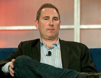 To on pokieruje Amazonem. Andy Jassy, obecny szef AWS, przejmie stery od...