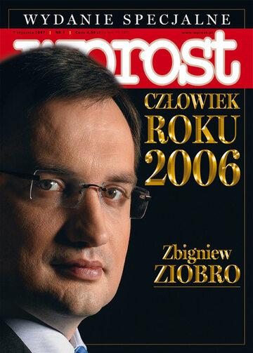 Okładka tygodnika Wprost nr 1/2007 (1254)