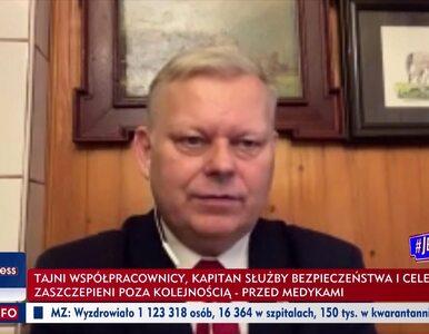 """Marek Suski w TVP 28 razy użył słowa """"układ"""". Mówił o """"hydrauliku..."""