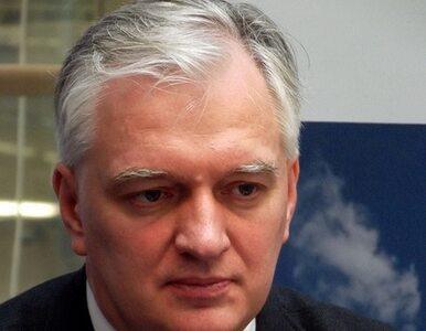 Gowin: Jako minister sprawiedliwości nie wykryłem powiązań między aferą...