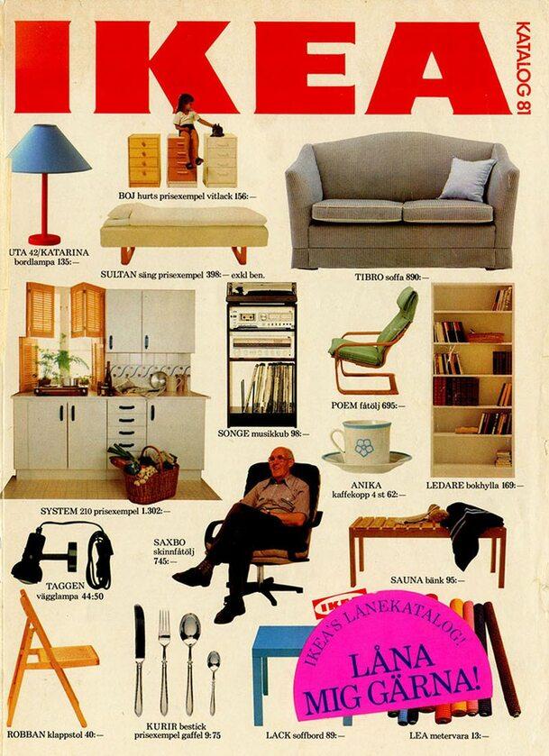 Okładka katalogu IKEA z 1981 roku