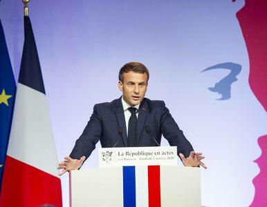 Francja walczy z koronawirusem. Macron wprowadza godzinę policyjną
