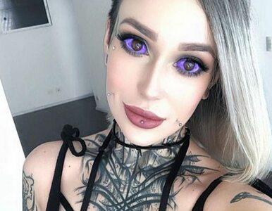 Ryzykowała wzrok, by mieć kolorowe gałki oczne. Obcy ludzie mówią jej,...