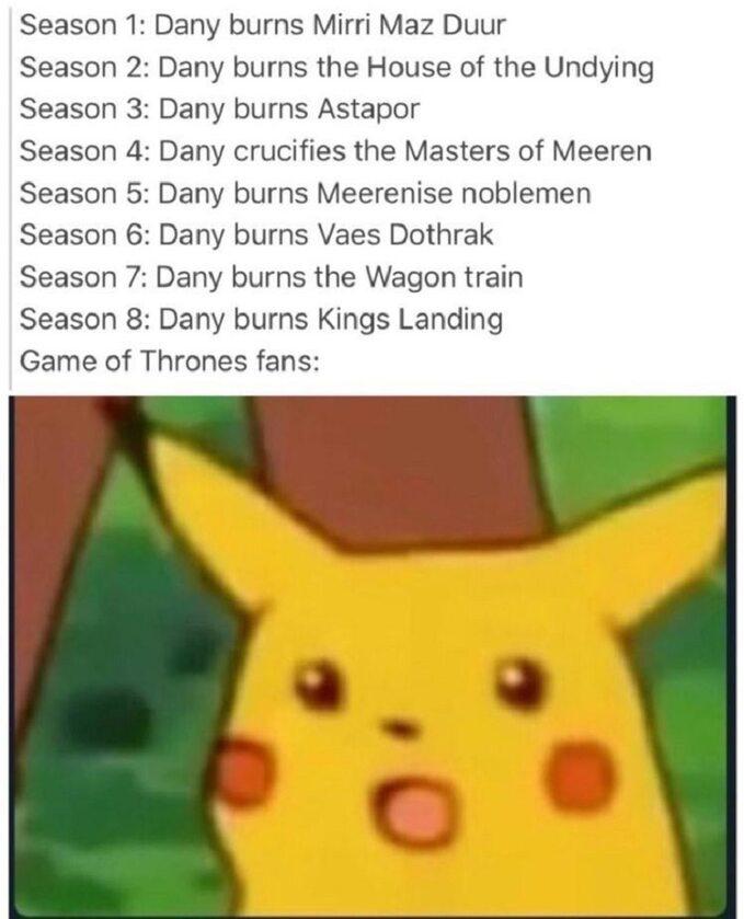 Żadne okrucieństwo Daenerys nie oburzyło fanów tak bardzo jak spalenie Królewskiej Przystani