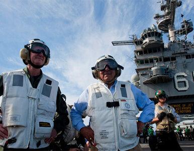 Lotniskowiec USA pokonał Ormuz. Iran nie przeszkadzał
